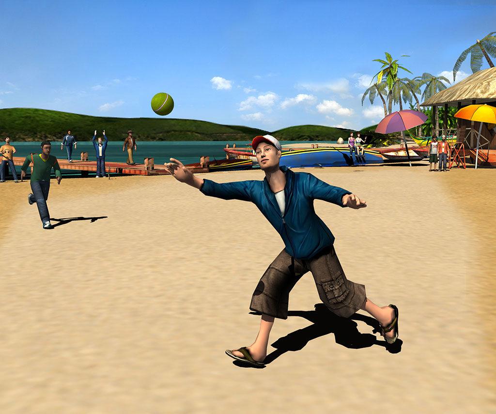 Street Cricket Champions on PSP