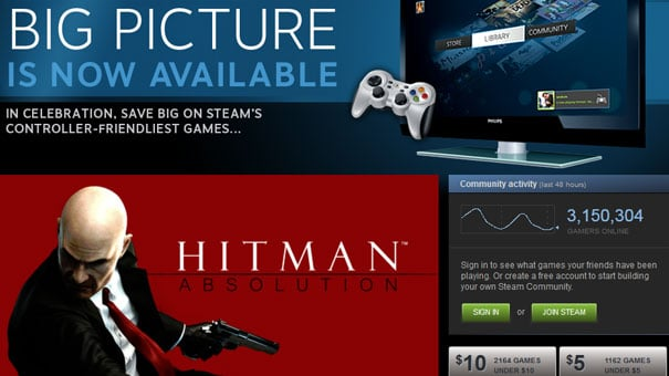 Steam's Big Picture mode out now – IndianVideoGamer com