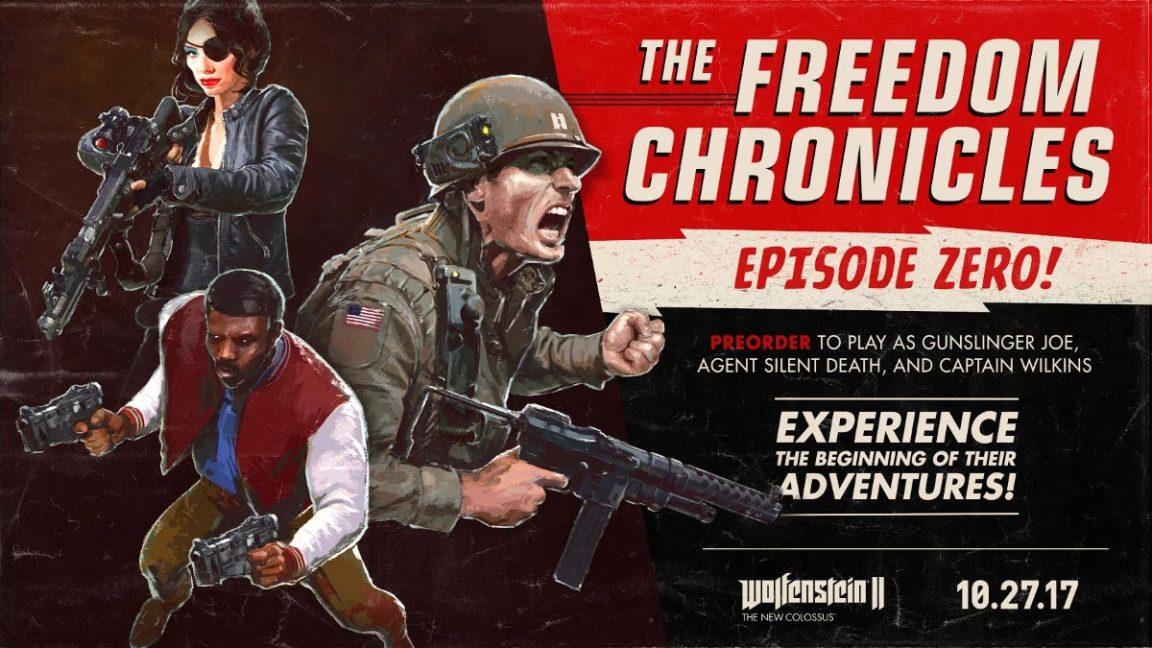 Wolfenstein 2: The New Colossus DLC content