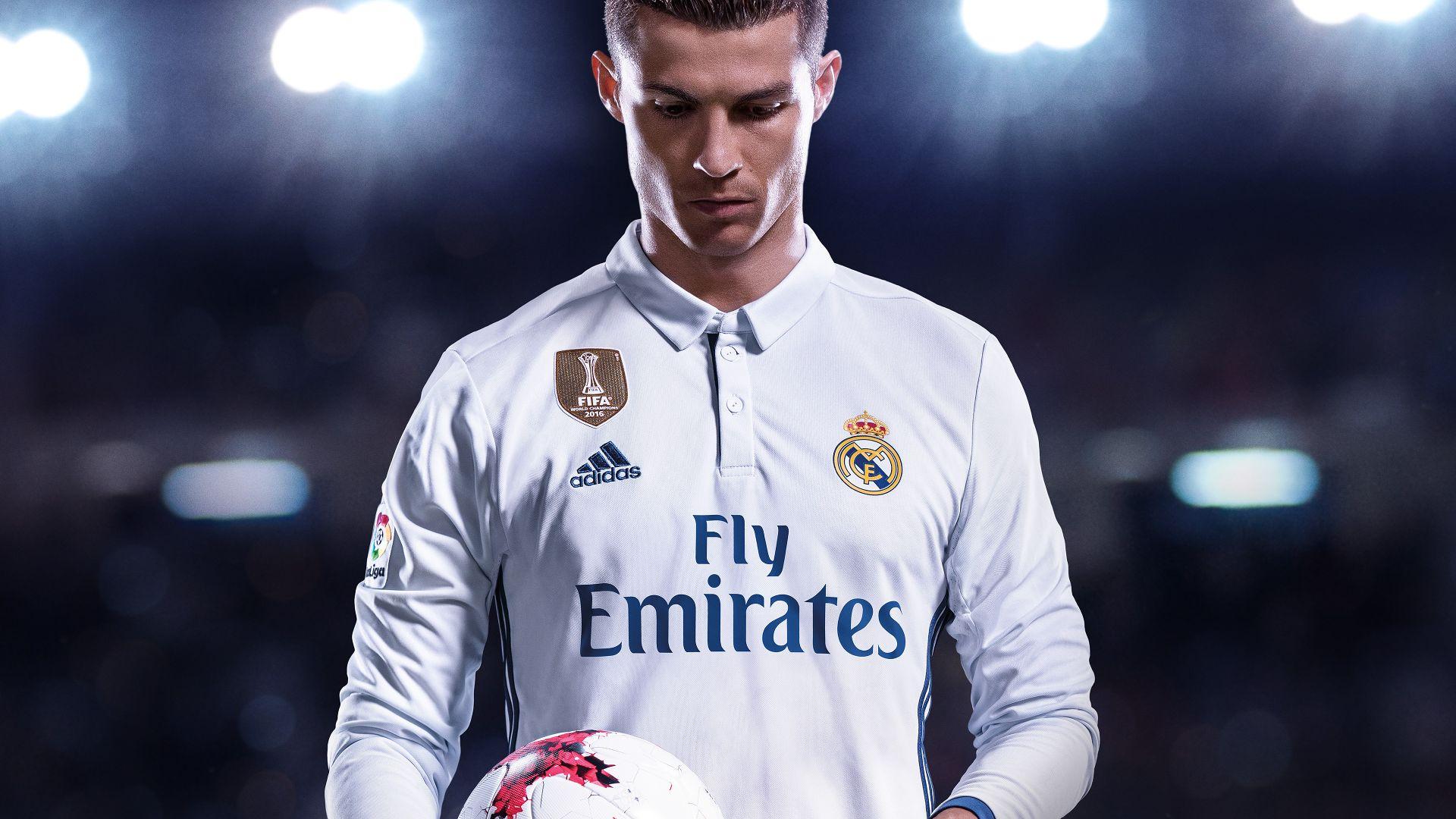 FIFA 18 Ronaldo front