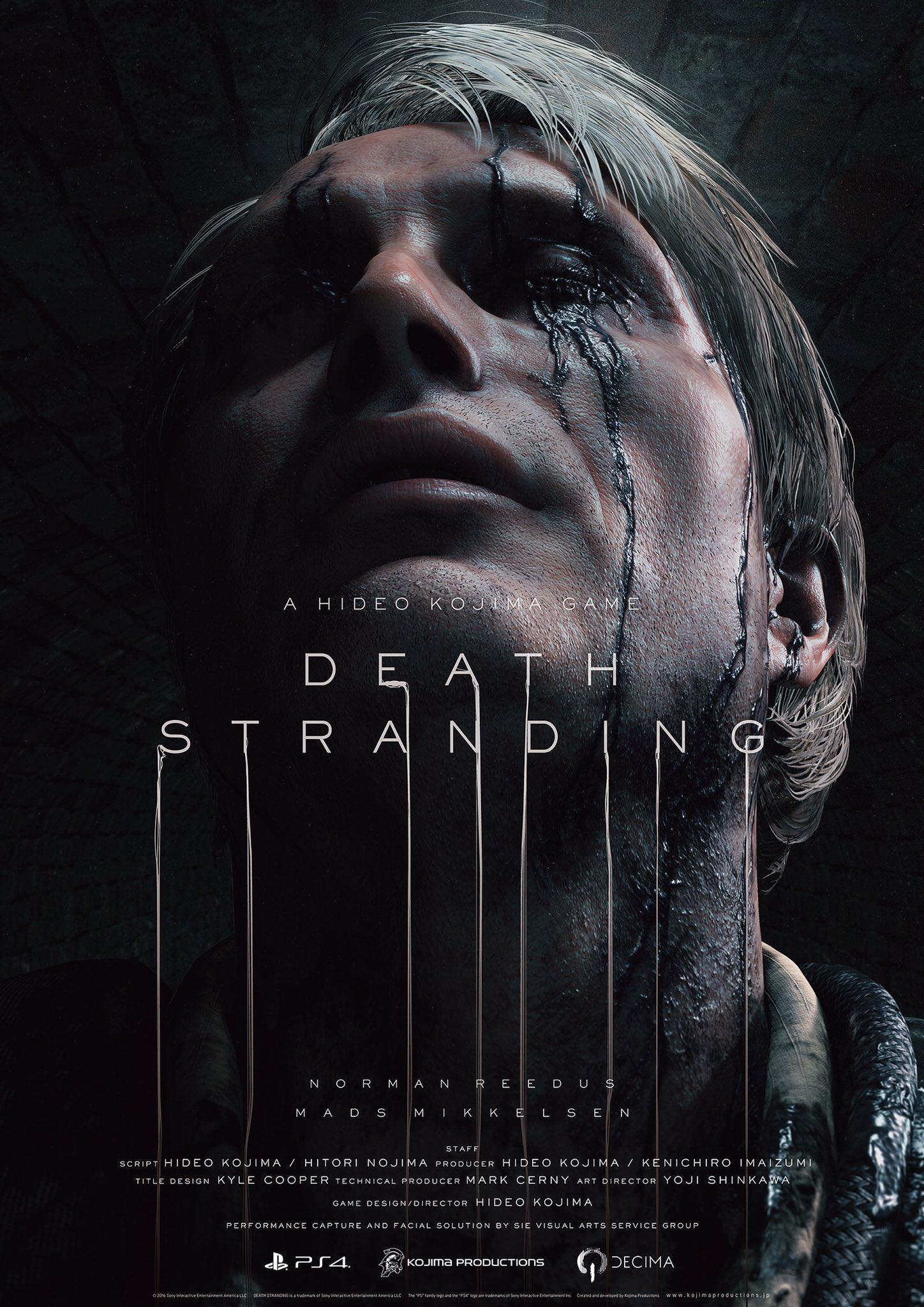 Death Stranding Poster Mads Mikkelsen
