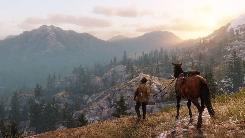 Red Dead Redemption 2_valley