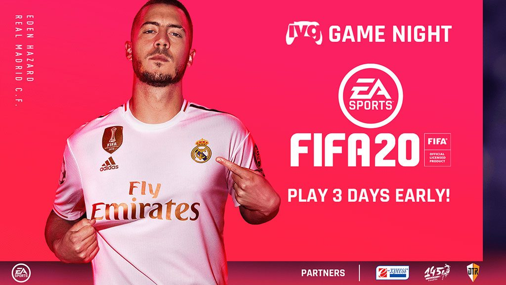 IVG Game Night: FIFA 20 launch event