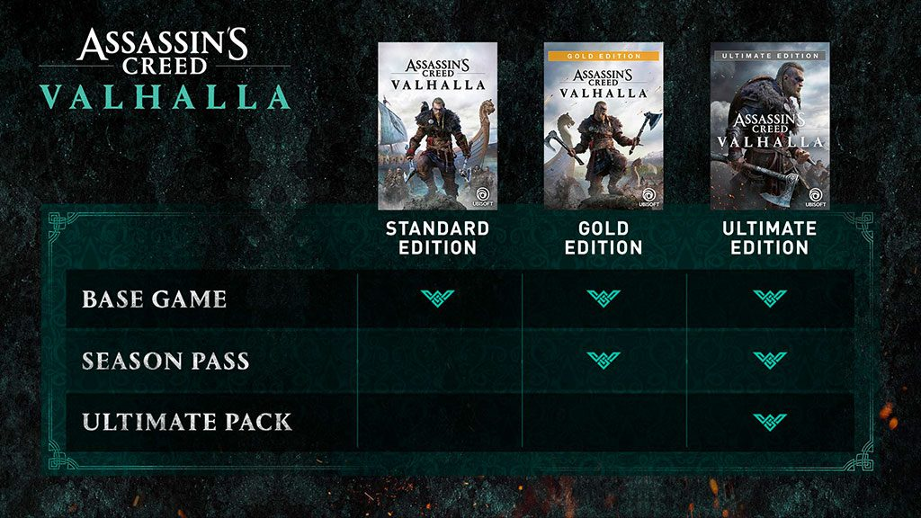 Assassin's Creed Valhalla editions available for pre-order in India