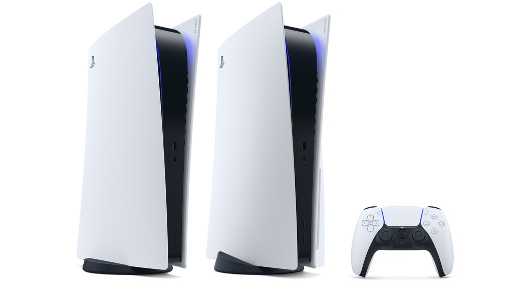 PS5 and PS5 digital edition consoles