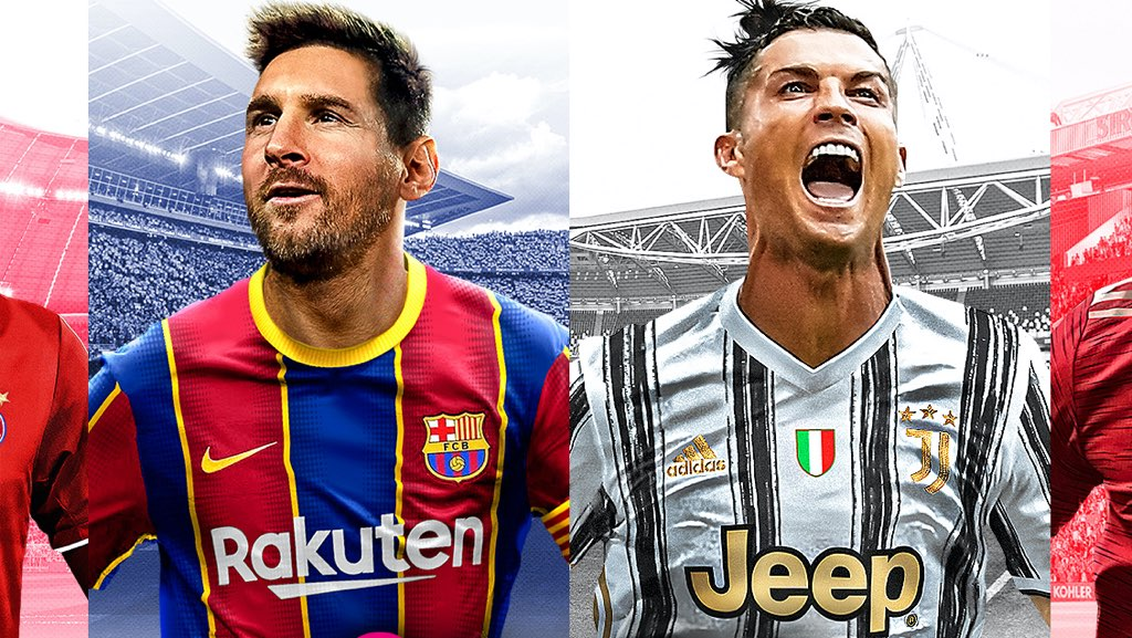 Messi, Ronaldo together on PES 2021 cover ...