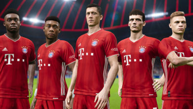Bayern Munich in PES 2021 Season Update