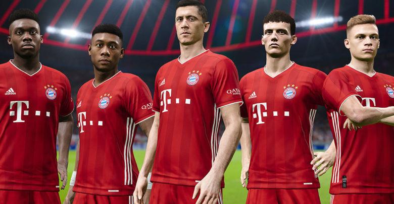 Bayern Munich in PES 2021 Season Update